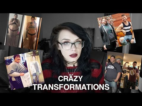 REACTING TO INSANE WEIGHT LOSS TRANSFORMATIONS
