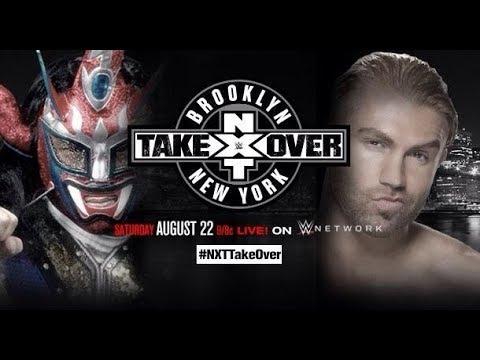 "JUSHIN ""THUNDER"" LIGER VS TYLER BREEZE NXT TAKE OVER BROOKLYN , NEW YORK HIGHLIGHTS"