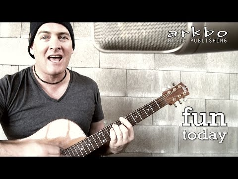 Acoustic Music - Singer Song Writer - Original song Acoustic version - Fun Today
