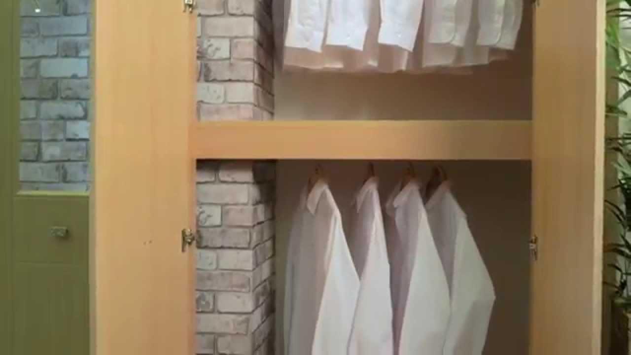 Fitted Bedroom Installation Around Chimney Breast By Betta