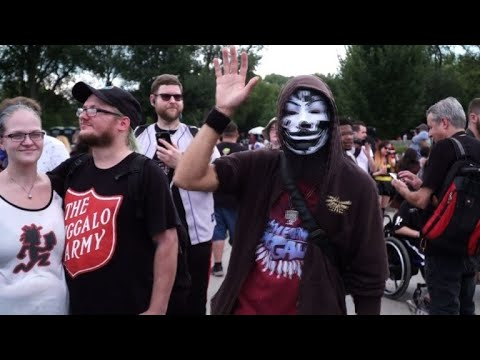 Juggalos march on Washington to protest 'gang' label
