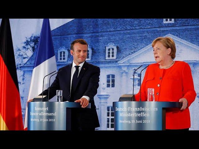 Merkel and Macron agree on eurozone budget
