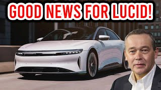 WOW!! THIS JUST HAPPENED TO LUCID MOTORS!! |