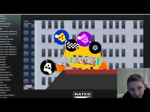 Happy Wheels DEMO UNBLOCKED GAMES (Intro and music added)