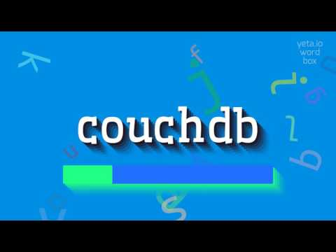 "How to say ""couchdb""! (High Quality Voices)"