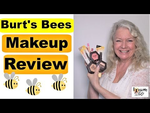 Burt's Bees Makeup Drug Store Haul, Review & Beauty How-To Tutorial