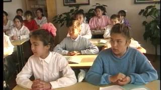 Уроки родного языка. Зианчуринский район Муйнаковская школа. 1992г.