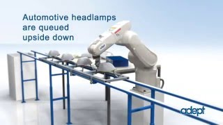 Omron's Adept Viper Six Axis Robot for Assembly dispensing sealant