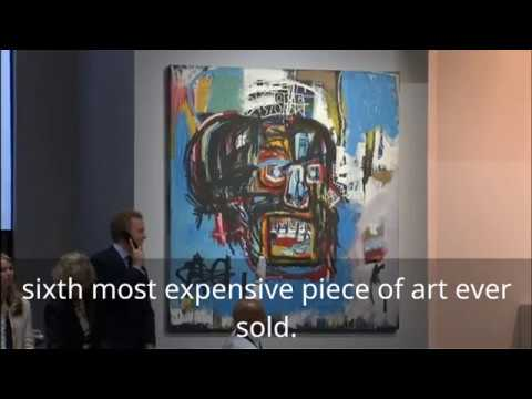 Jean Michel Basquiat painting sold for $110m