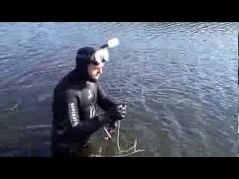 Подводная охота в Беларуси, России, Украине.