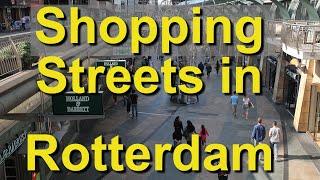 Rotterdam, Netherlands, Shopping Streets