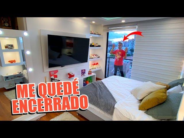 Room Tour de mi Nuevo Cuarto y Me Quedo Encerrado en el Balcón de Afuera - Enchulando Mi Casa Cap #7