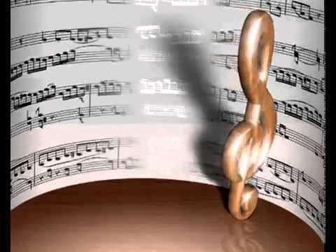 Скрипичный ключ, ноты - Treble clef, notes