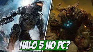 Novo Trailer de DOOM e Halo 5 no PC?