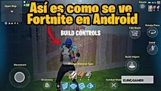 Donde Descargar Fortnite en Android! *No estará en la PlayStore* y Así se ve en Android!