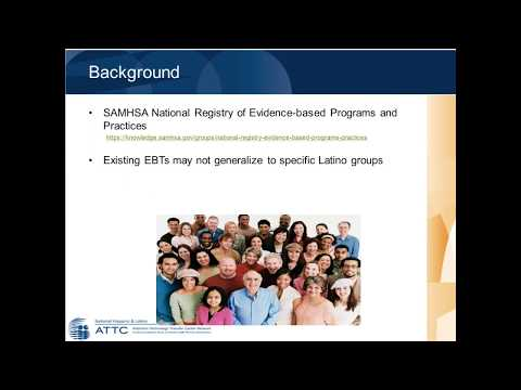 Make Your Program Work  Cultural Adaptation Resources for Latino serving Substance