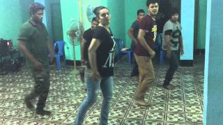 Mimo Dance  Rehearsal  for RAB 4 anniversary programme PART 1