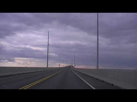 Confederation Bridge (One of World's Longest Bridges Linking PEI to NB)
