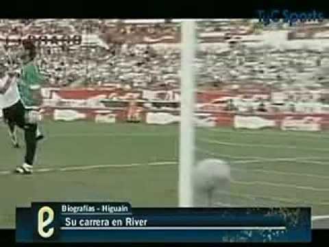 La carrera de Gonzalo Higuain en River