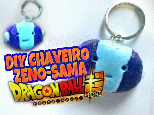 DIY ZENO-SAMA CHAVEIRO (DRAGON BALL SUPER)