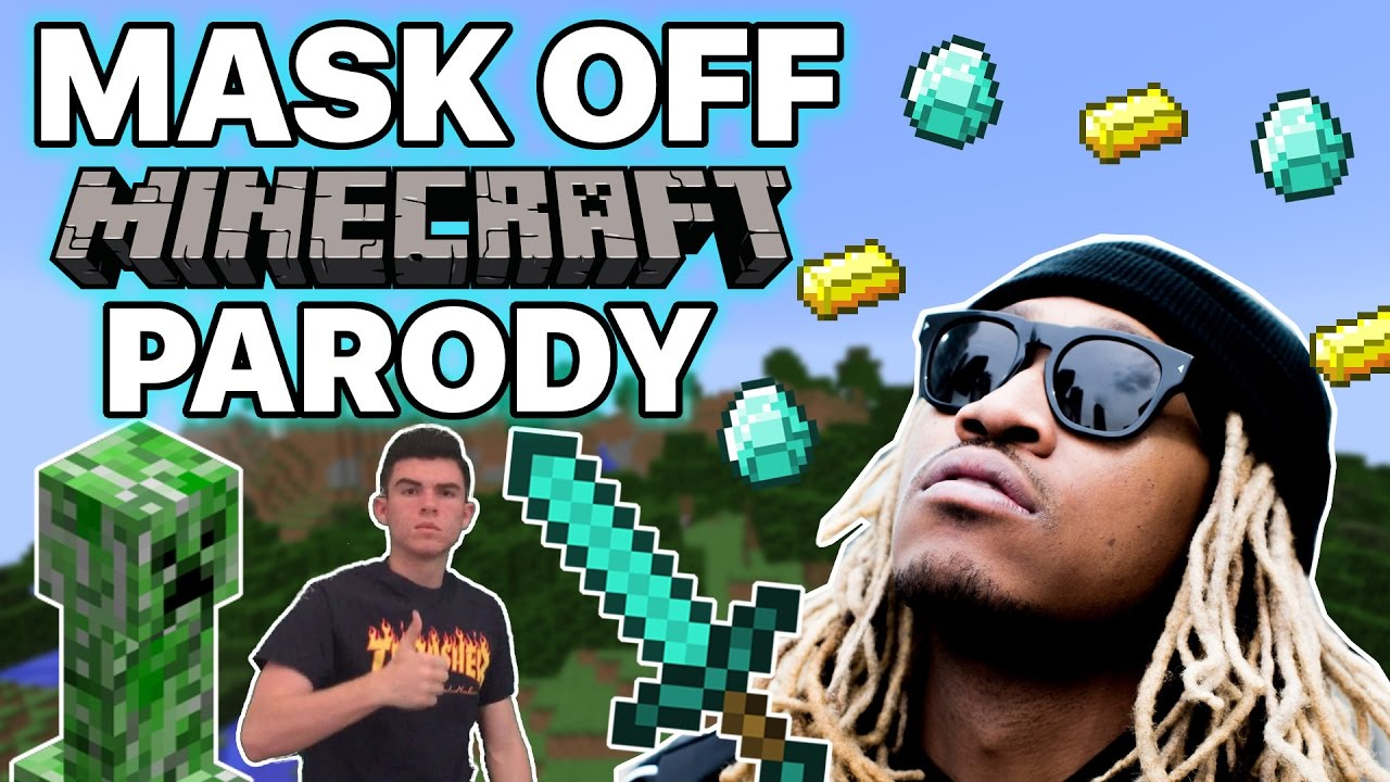 Mask Off By Future Minecraft Parody Youtube