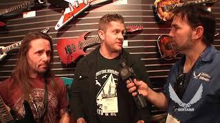 NAMM 2018 Dean Guitars- Rusty cooley pt 2 with Bradley Lambert