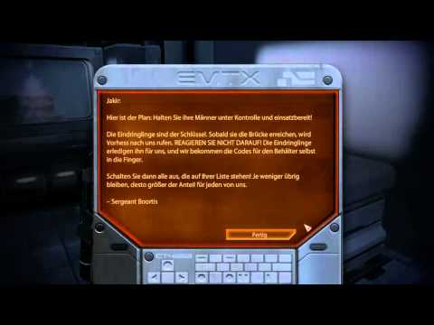 Let's Play Mass Effect 2 #40 - MSV Strontium Mule BLIND