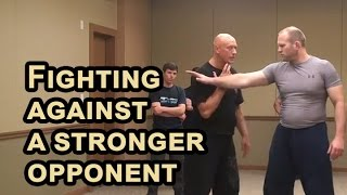 RUSSIAN SYSTEMA of hand to hand combat - Fighting against a stronger opponent thumbnail