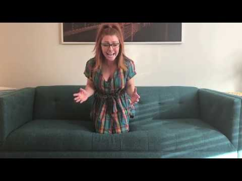 """Episode 4: WAITRESS #2 """" When He See's Me"""" The Casting Couch with Chris and Jenna"""