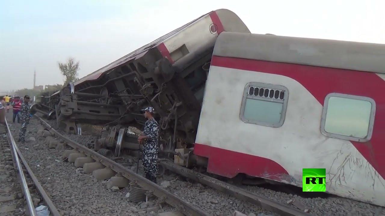 حادث قطار جديد في مصر  - نشر قبل 3 ساعة