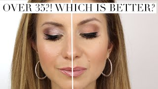 Over 35?! What you Need to Know about Matte Vs. Dewy (Shimmer) Textures