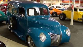 1940 Ford Hot Rod Surf Wagon Panel Truck