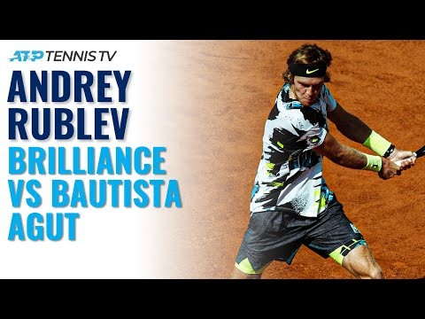 Some incredible play from Rublev vs RBA today at Hamburg