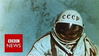 Spacewalk: 50 years of floating in space - BBC News
