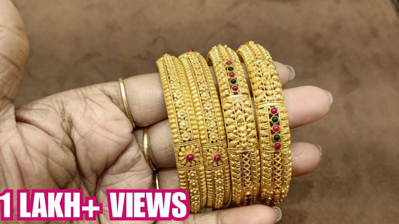 8 Grams Gold Bangles Online
