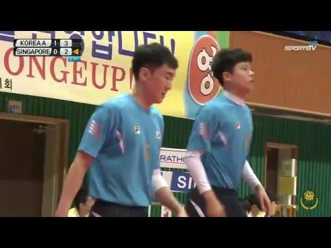 KOREA A vs SINGAPORE 2set