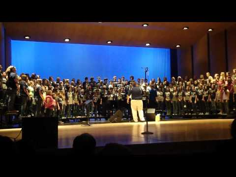 Africa by Toto performed by the Greenwood, Arkansas School Choirs