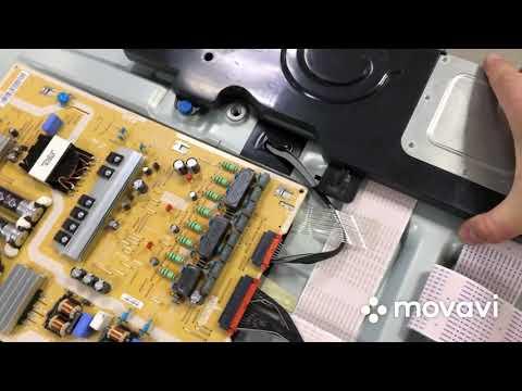 Разбор изогнутого телевизора Samsung Ue49mu7500u