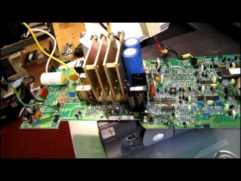 Repair one of my surge damaged Smart-UPS 1250 units - YouTube