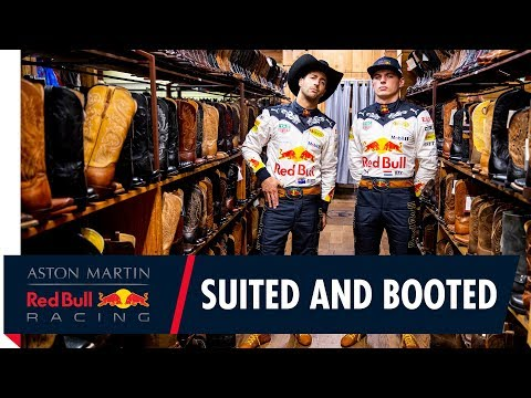 Wearing our best bib and tucker   Daniel Ricciardo and Max Verstappen are set for the US Grand Prix