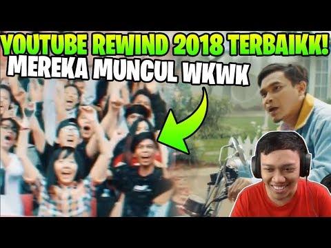 REACTION YOUTUBE REWIND 2018! GW CUMAN MUNCUL 1 DETIK GAES UNTUNG GAK NGEBUG!!