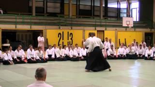 JODAN TSUKI - URA MOVEMENT - ENTERING VARIATION