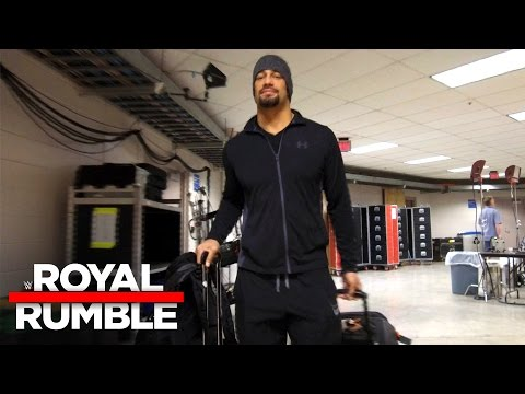Roman Reigns is ready to own the WWE Universal Title: Royal Rumble Exclusive, Jan. 29, 2017