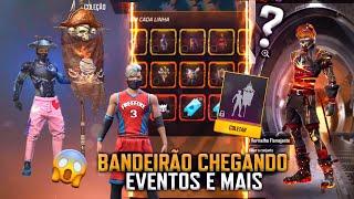 OFICIAL! BANDEIRÃO CHEGANDO, LOJA MISTERIOSA 10.0 NÃO VEM? LOJA DA SHANI E NOVO EVENTO - FREE FIRE