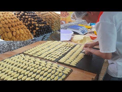 حلوة-الصبيع-3-أشكال-بعجينة-واحدة-سهلة-سريعة-التحضير/-سلسلة-أطباق-بلادي-المغرب-(حلقة58)