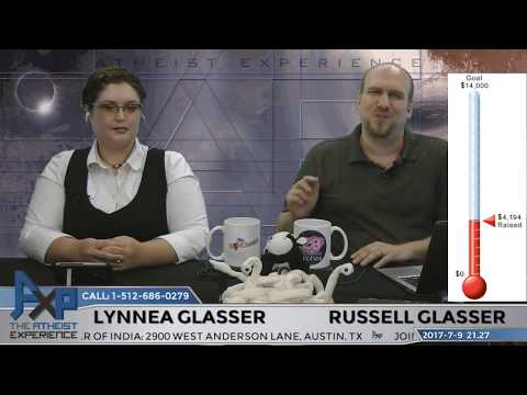 Atheist Experience 21.27 with Russell Glasser and Lynnea Glasser