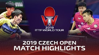 Lin Yun -Ju/Liao Chen-Ting Vs Lee Sangsu/Cho Daeseong | 2019 ITTF Czech Open Highlights (Finals)