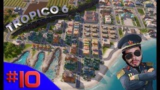 O FIM DAS FAVELAS, MINHA CASA MINHA VIDA - Tropico 6 #10 - (Gameplay/PC/PT-BR) HD