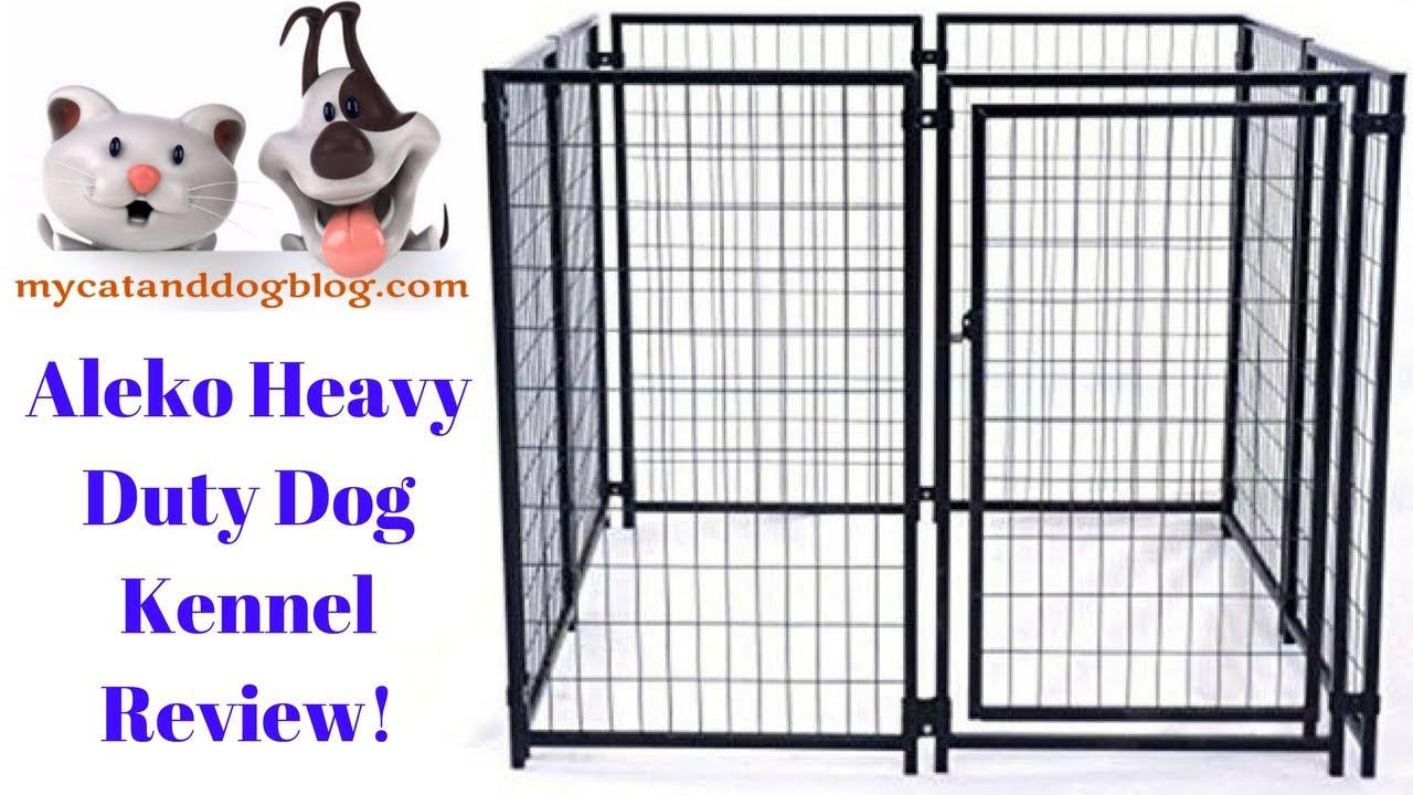 aleko heavy duty dog kennel review