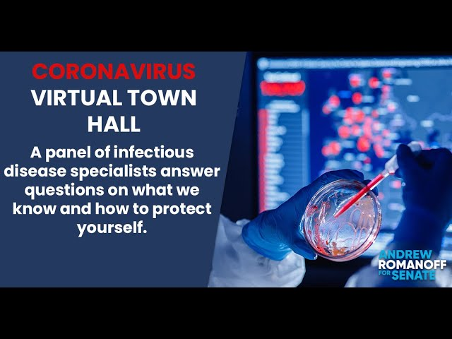Coronavirus Virtual Town Hall